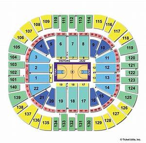 Vivint Smart Home Arena Salt Lake City Ut Seating Chart