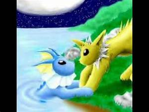 Vaporeon and Jolteon - Could this be love - YouTube