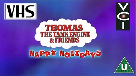 opening to the tank engine friends happy holidays uk vhs 1999
