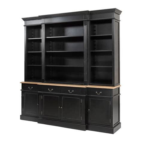 Provincial Bookcase Melbourne by Provincial Furniture Bookcase Cabinet Black Ebay