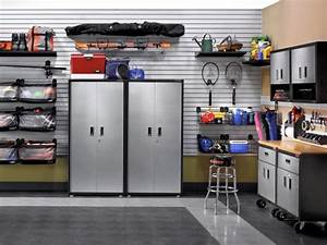 great tips for garage organization diy network blog With kitchen cabinets lowes with stickers para carros
