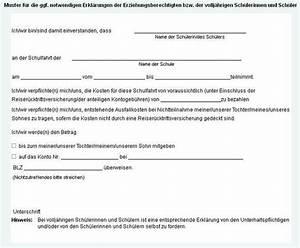 Einverständniserklärung Reise Kind Muster : klassenfahrt schriftliche einwilligung schulrecht ~ Themetempest.com Abrechnung