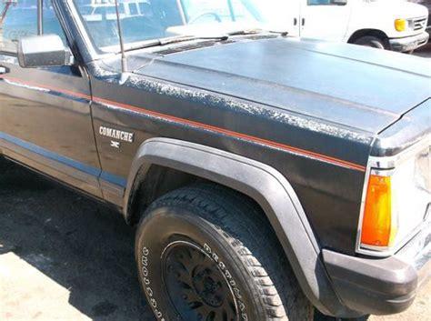 1986 jeep comanche interior find used 1986 jeep comanche no reserve in orange