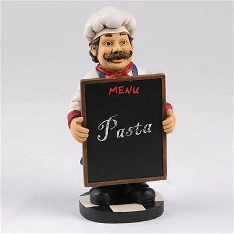 chalkboard menu chef statue  chalkboards  chefs