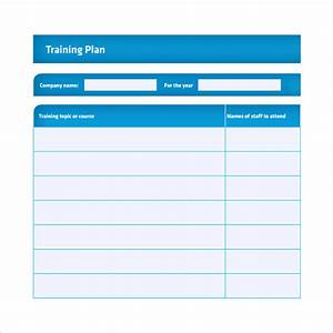 training plan template 16 download free documents in With end user training plan template