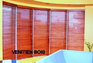Store Venitien Bois : stores venitiens bois store venitien bois store v nitien ~ Melissatoandfro.com Idées de Décoration