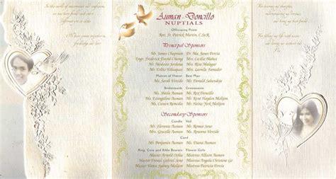 Sample Wedding Invitation Card