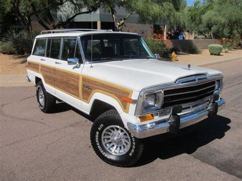1989 jeep wagoneer lifted purchase used 1984 jeep grand wagoneer limited sport