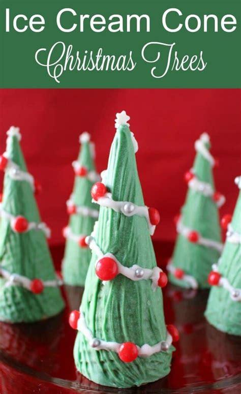 ice cream cone christmas trees princess pinky girl