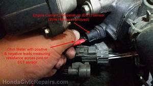 Engine Coolant Temperature Sensor Civic