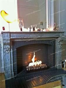 Petite Cheminee Ethanol : cheminee bio ethanol dans ancienne cheminee ~ Premium-room.com Idées de Décoration