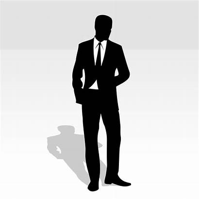 Suit Business Vector Clipart Clipartbest Behind