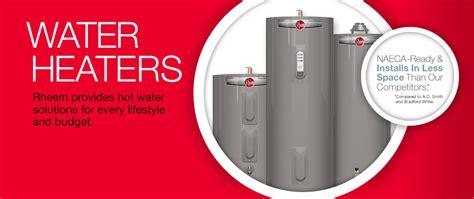 Water Heating Home Rheem Heaters