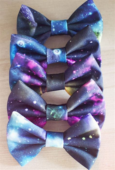 Galaxy Bowtiee Or Hair Bow Want Galaxy Outfit