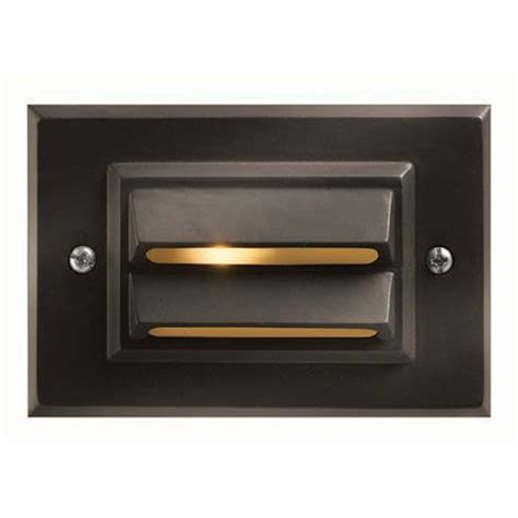 bronze low voltage deck landscape led light fixture