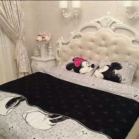 mickey and minnie mouse bedroom curtains disney bedroom ideas house decoration