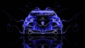 Infiniti Q50 Back Fire Abstract Car 2014 el Tony