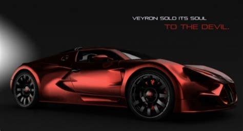 New Bugatti Lucifer Design Study By Borza Speed