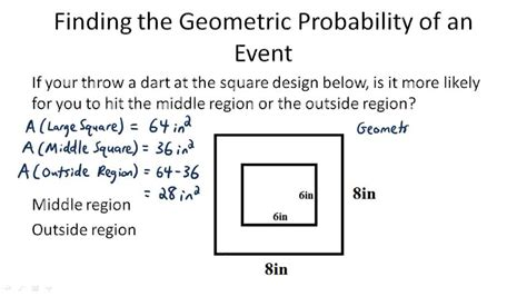 Pictures Geometric Probability Worksheet Getadating