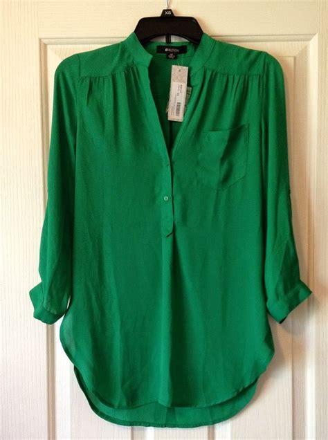 womens green blouse emerald green tops for pixshark com images