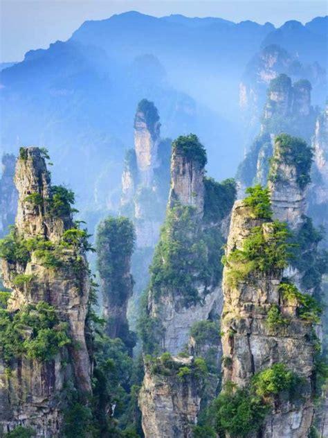 zhangjiajie landscape bing wallpaper