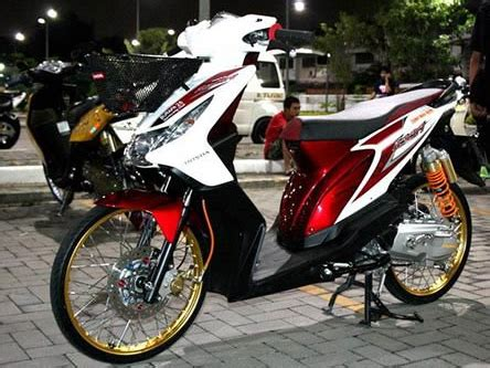 Modivikasi Motor Beat by 15 Foto Gambar Modifikasi Motor Honda Beat Fi Kumpulan