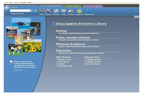 Encyclopedia britannica free download for android