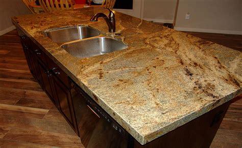 copper kitchen backsplash lapidus granite with mitered edge kitchens 2577