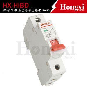 China Hibd Miniature Circuit Breaker Mcb Hyundai