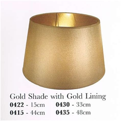 Gold Lined Lamp Shades by Gold Shade With Gold Lining
