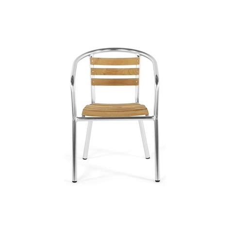 chaise de jardin aluminium chaise de jardin aluminium bois
