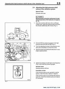Bomag Bw 211 3 Single Drum Vibratory Roller Hydraulic Schematics And Circuit Diagrams Manual