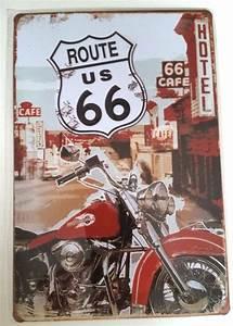 Route 66 En Moto : placa decorativa vintage moto harley davidson rota 66 pl13 r 12 99 em mercado livre ~ Medecine-chirurgie-esthetiques.com Avis de Voitures