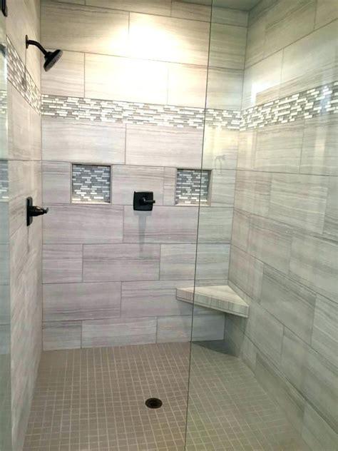 groutless tile shower floor walk  tiled ideas