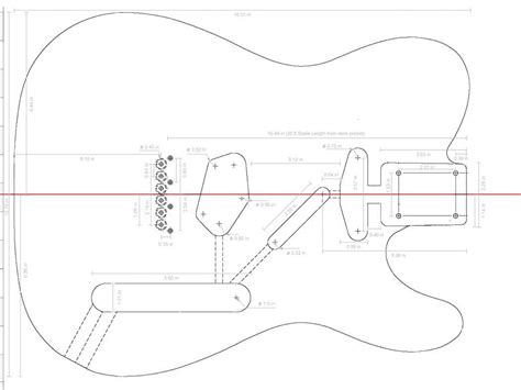 fender guitar templates ready  template prs