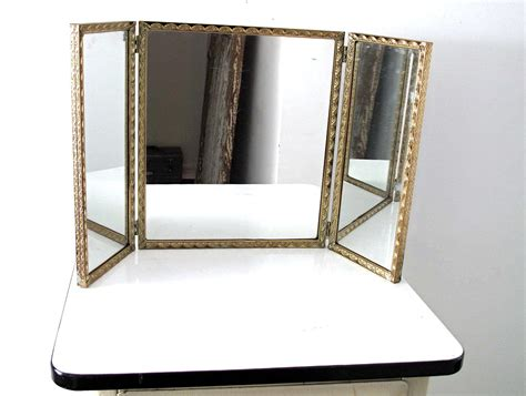 Tri Fold Bathroom Wall Mirror by Interior Appealing Trifold Mirror For Your Vanity Ideas