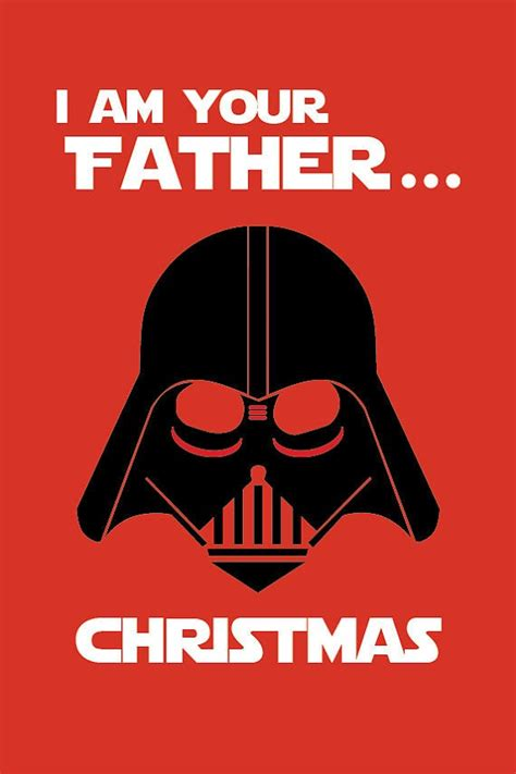 Artist pj mcquade (previously at neatorama) created four new designs for his star wars christmas card series. Star Wars Inspired Christmas Card Printable or Ecard | Etsy
