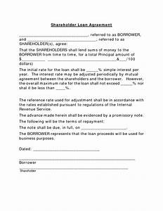 loan contracts template pt lawencon internasional With example of agreement letter for borrowing money