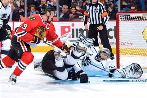 chicago blackhawks  los angeles kings nhl playoff