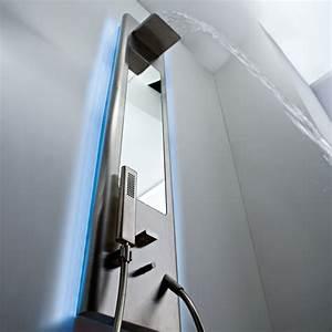 Colonne De Douche Hydromassante Thermostatique : colonne de douche cascade pas cher ~ Edinachiropracticcenter.com Idées de Décoration