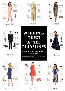 wedding guest attire guidelines wedding dress codes With wedding reception dress code