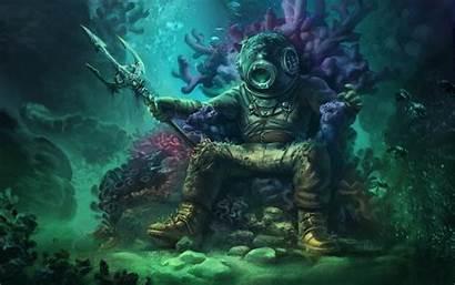Ocean Fantasy Abyss Sea Creatures Deep Creature