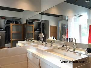 miroir de salle de bain With miroir salle de bain sur mesure