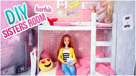 Diy Barbie Chambre Comment Faire Lits Superposés Pour