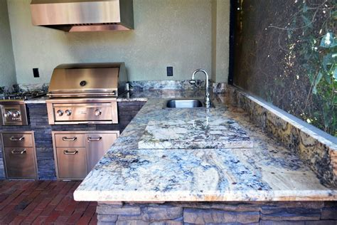 granite outdoor kitchen countertops trinity