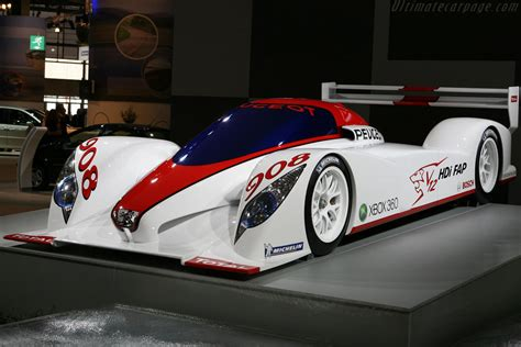 Peugeot Lmp1 2019 by 2006 Peugeot 908 Hdi Fap Concept Specifications