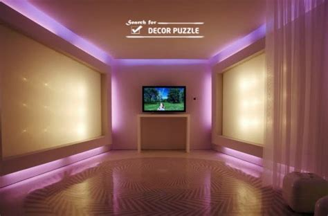 Led Lights Whole Room by Wall Ceiling Pop Design For Living Room With Led Lights