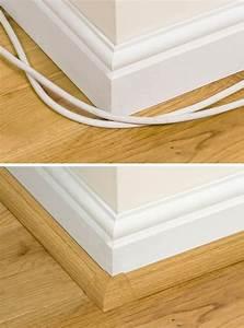 Kabel Verstecken Box : eine fu leiste ist nicht nur dekorativ sondern versteckt ~ Lizthompson.info Haus und Dekorationen