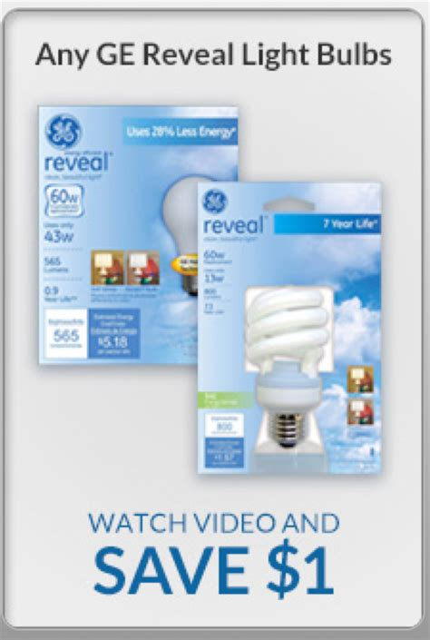 ge light bulb coupon better than free at rite aid 2 1
