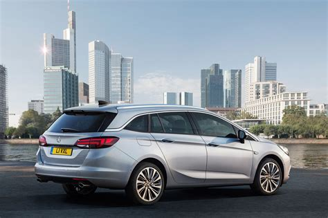 Opel Astra Estate by Vauxhall Astra Sports Tourer Estate Boots Up At Frankfurt